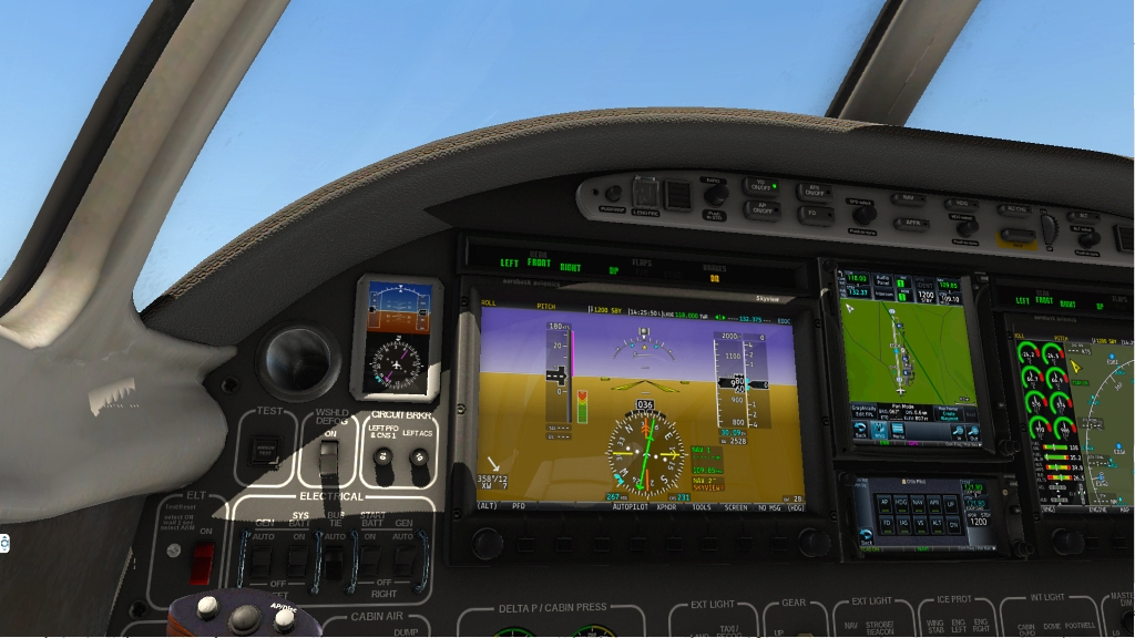 Which aircraft have RXP GTN750 out of the box in X-Plane 11